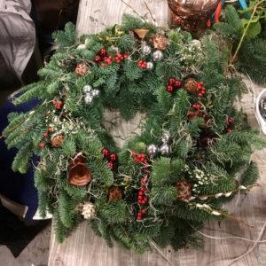 Workshop Kerstkrans, Guirlande, Festoen